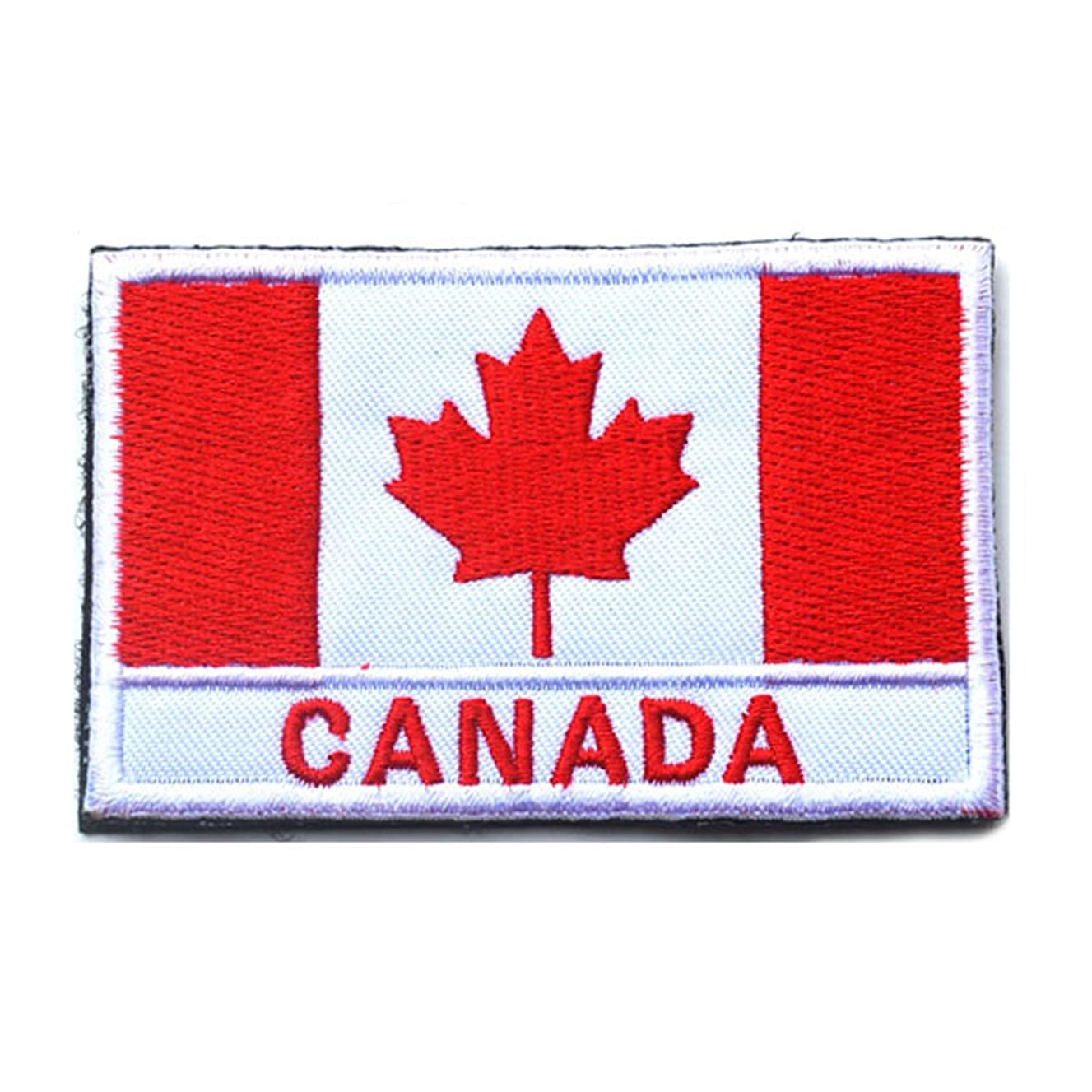 Canada Flag Patch Embroidered Military Tactical Flag Patch