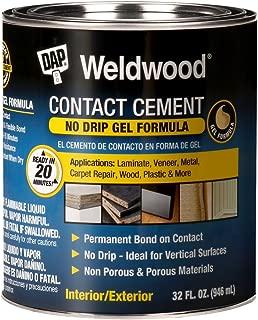 DAP 7079825312 Gel Original Contact Cement Qt Raw Building Material, TAN