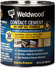 DAP 7079825312 Gel Original Contact Cement Qt Raw Building Material, TAN