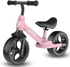 دوچرخه تعادل جولیتو ، صندلی قابل تنظیم و دوچرخه تعادل کودکان و نوار فرمان برای 2،3،4،5،6 سال ، دوچرخه آموزش کودک نو پا بدون پدال با پایه
