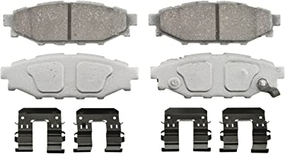 Wagner ThermoQuiet PD1114 Ceramic Disc Pad Set With Installation Hardware, Rear
