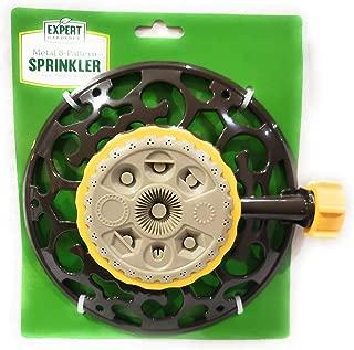 EXPERT GARDENER Metal 8-Pattern Sprinkler