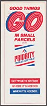 American Airlines Priority Parcel Service airline folder ca 1980s