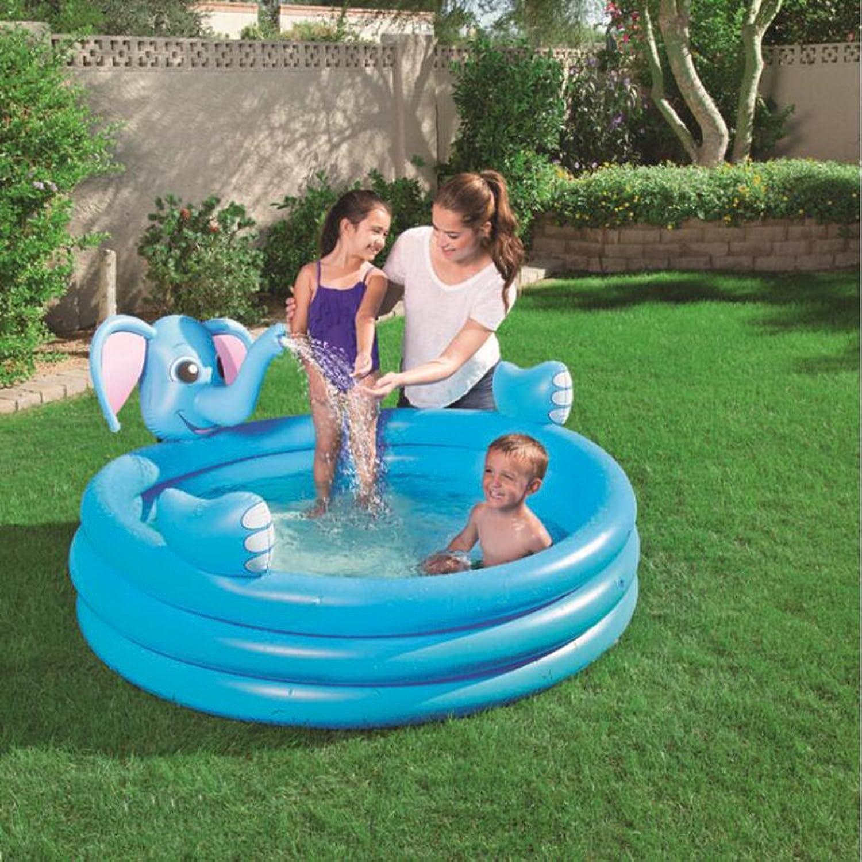 el mas reciente LILINA Inflables Ocean Ball Pool Baby Jugar Pool Pool Pool Piscina para Niños Thicken Fishing Sand Pool Elephant Three Rings Fountain  punto de venta de la marca