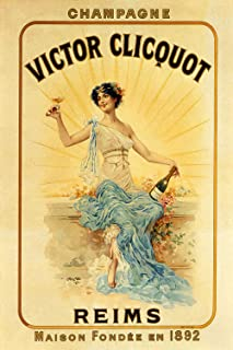 Victor Clicquot Champagne_Reims - Vintage French Advertising Poster Reproduction (18 x 24)