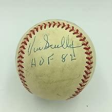 Signed Vin Scully Baseball - Rare Hall Of Fame 1982 National League COA - JSA Certified - Autographed Baseballs