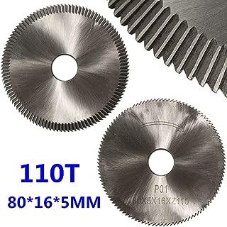 JohnnyBui - Cutting Discs Rotary Tools Cutting wheel Key Cutting Disk Blade Cutter Lock 110T 80C for Silca Bravo II/Bravo III/Ilco/Orion