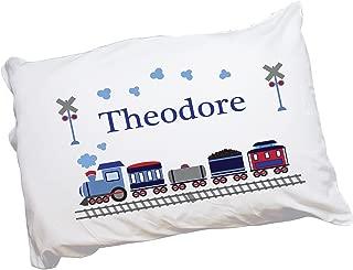 MyBambino Boy's Personalized Train Pillowcase