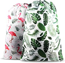 Nidoul 2 Pack Extra Large Laundry Bag, Heavy Duty Travel Laundry Bag, Drawstring Closure Dirty Clothes Bag, Durable Rip-Stop Bag for Camp Dorm, Machine Washable 24