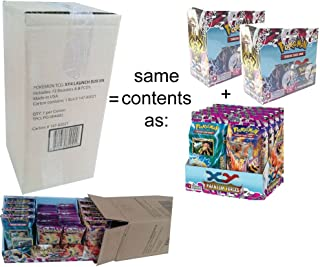 Pokemon Trading Card Game: XY Phantom Forces Booster Launch Box Case Display (72 Booster Packs) + 8 Decks & foil promos