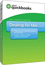 Intuit QuickBooks Desktop For Mac 2019 [Mac Disc][Old Version]