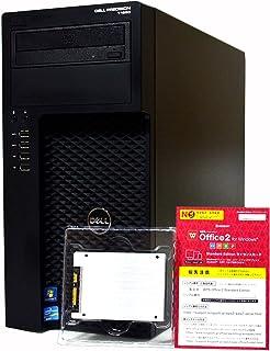 デスクトップパソコン 【Office搭載】 SSD 1TB (新 品 換 装) DELL Precision T1650 Workstation ミニタワー 第3世代 Xeon E3 1240 v2 /32GB/SSD 1TB + HDD 1T...