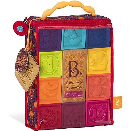 B. toys 柔らかブロックキューブ 積み木ブロック10個入り BX1002Z 正規品
