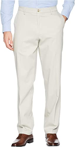Classic Fit Signature Khaki Lux Cotton Stretch Pants D3