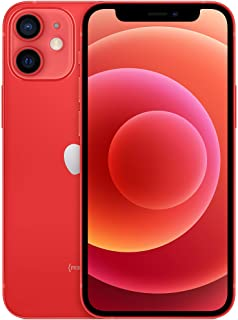 New Apple iPhone 12 mini (64GB, (PRODUCT)RED) [Locked] + Carrier Subscription