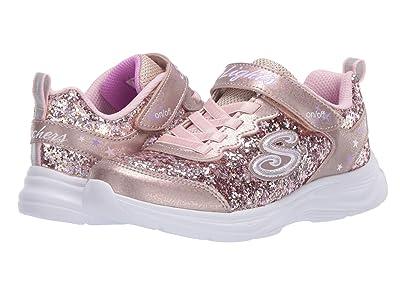 SKECHERS KIDS Sport Lighted Glimmer Kicks 20267L (Little Kid/Big Kid) (Gold/Pink) Girl