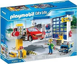 PLAYMOBIL City Life Taller de Coches, A partir de 4 años (