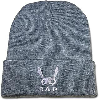 RHXING KPOP B.A.P BAP Adjustable Embroidery Snapback Baseball Leisure Hats Visor Casual Mesh Caps Beanie
