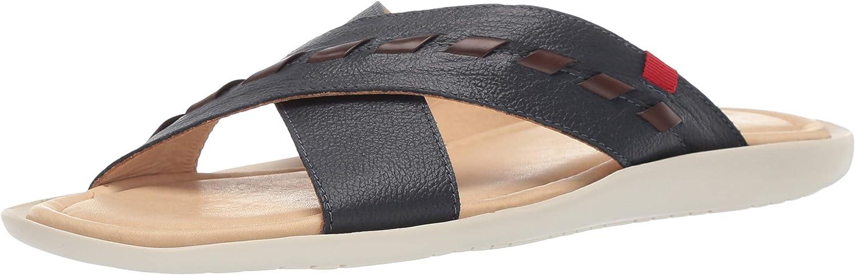 MARC JOSEPH NEW YORK Mens Mens Genuine Leather Made in Brazil Hampton Fashion Comfort Sandal Sandal