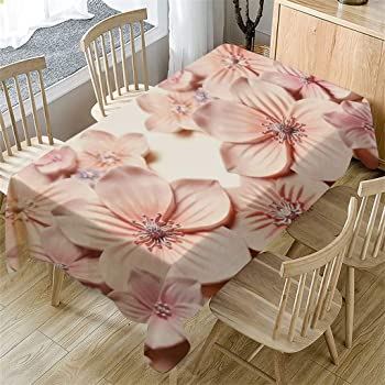 Nautical 3D printing Tablecloth 5 Sizes Rectangular Table Cover Decor dustproof