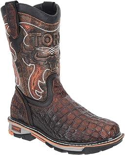 Men's TCA1 Composite Toe Croc Print 10