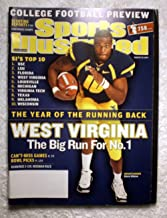 Steve Slaton - West Virginia Mountaineers - The Big Run for No. 1 - Regional Cover - Sports Illustrated - August 20, 2007 - College Football Preview - SI