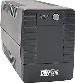 Tripp Lite 450VA UPS Battery Backup, Line Interactive UPS, Automatic Voltage Regulator, 6 Outlets, USB Connectivity, 360W, 120V, 50/60 Hz, Tower (AVRT450U)