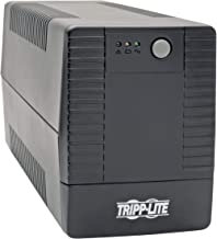Tripp Lite 450VA UPS Battery Backup, Line Interactive UPS, Automatic Voltage Regulator, 6 Outlets, USB Connectivity, 360W, 120V, 50/60 Hz, Tower (AVRT450U)