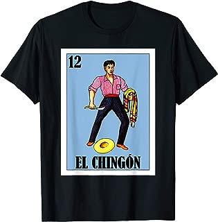 Loteria Shirts - El Valiente Parody Shirt - El Chingon T-Shirt