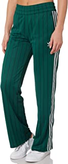 Adidas Women's Track Pants Polyester Green
