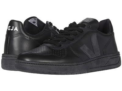 VEJA V-10 (Black) Athletic Shoes