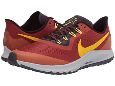 Nike Air Zoom Pegasus 36 Trail (Rugged Orange/Speed Yellow/Desert Orange) Men