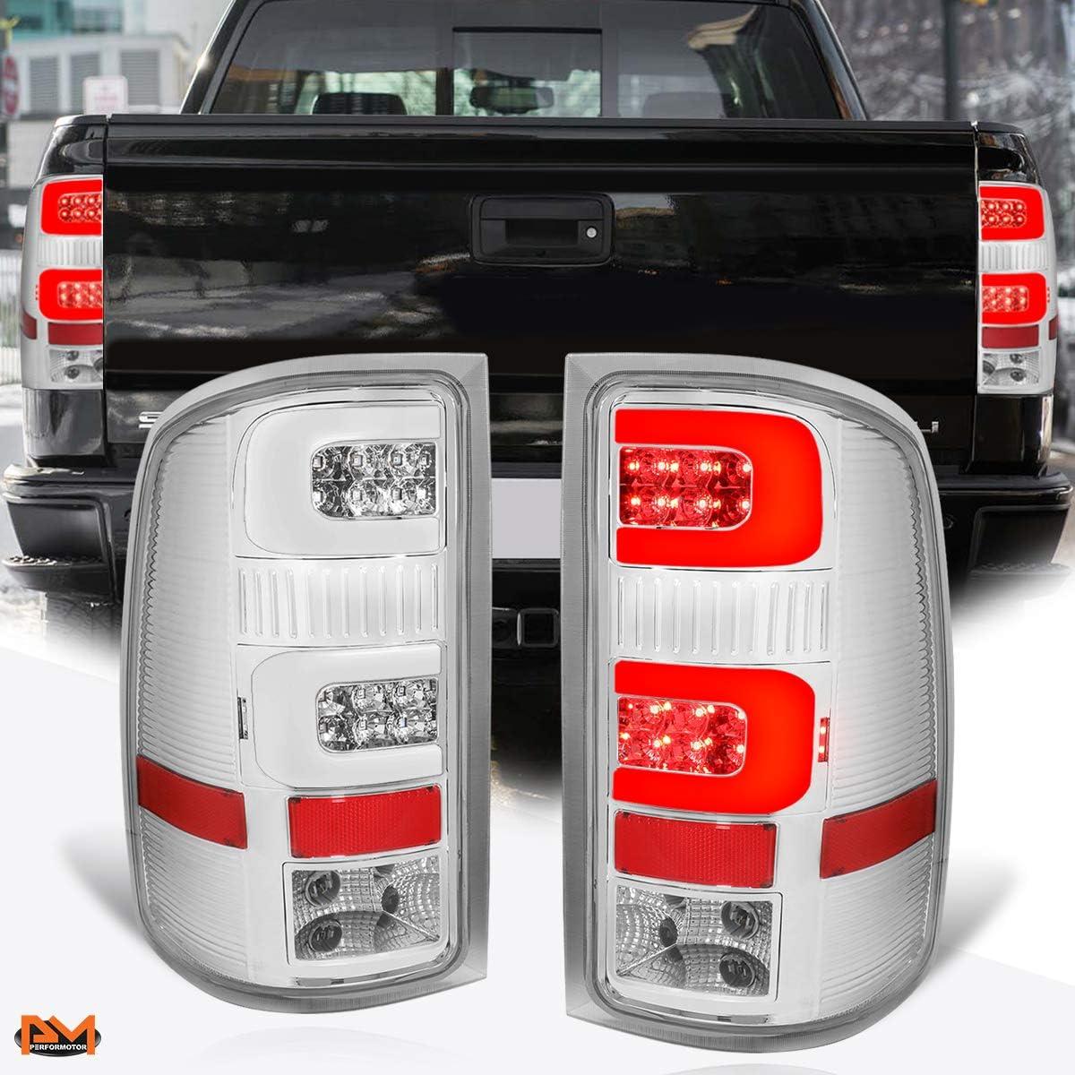 Compatible with GMC Sierra 07-14 Dual LED Lig Sales 3D Bargain sale C-Tube Bar Tail