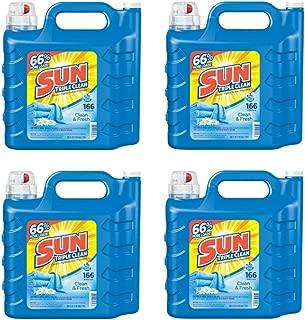 sun laundry detergent 250 oz