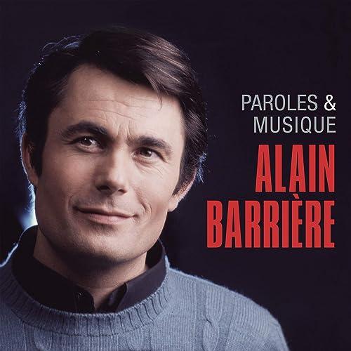 Alain Barrière - Paroles et Musique