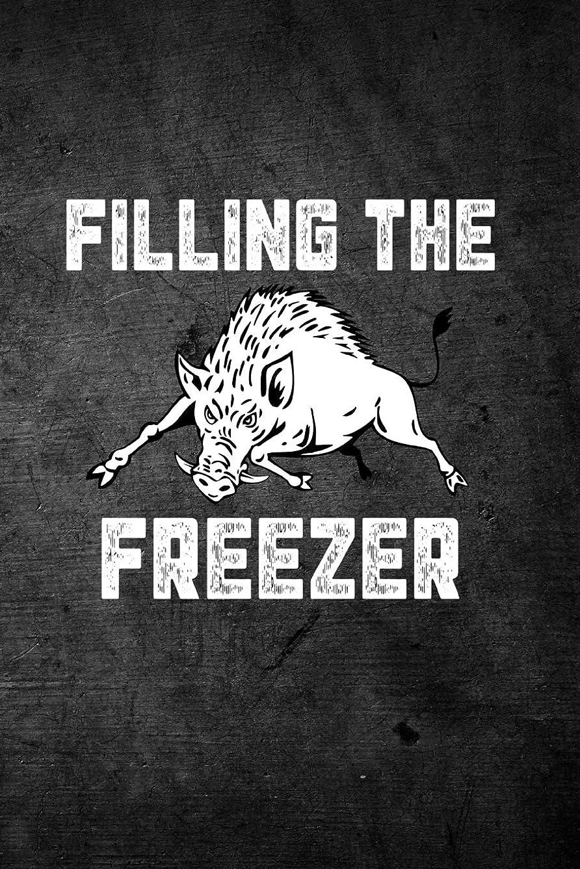 一致気付くビジターFilling The Freezer: Blank Lined Journal