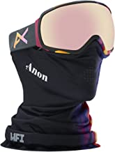 Anon Women's Tempest Goggle (Available in Asian Fit) Select Colors Include MFI Facemask