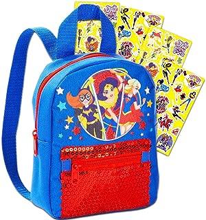 DC Super Hero Girls Mini Backpack Bundle -- 9