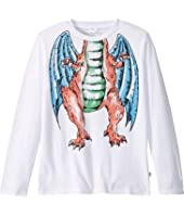 Stella McCartney Kids - Headless Dragon Long Sleeve T-Shirt (Toddler/Little Kids/Big Kids)