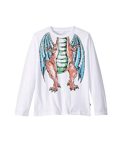 Stella McCartney Kids Headless Dragon Long Sleeve T-Shirt (Toddler/Little Kids/Big Kids)