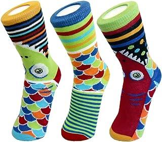 オッドソックス 靴下 フィッシー レディース ショート 3本セット かわいい 英国デザイン 20.0?24.5cm