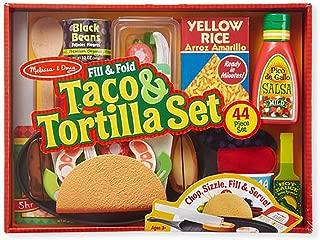 Fill & Fold Taco & Tortilla Set - 43 Piece Set - Children's Toy