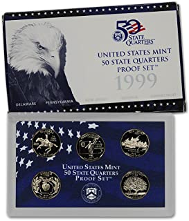 1999 S US Proof set State Quarters In original packaging from mint Proof