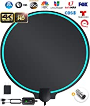 All-New 2021 Indoor HDTV Digital Antenna 4K HD Freeview Life Local Channels All Type..