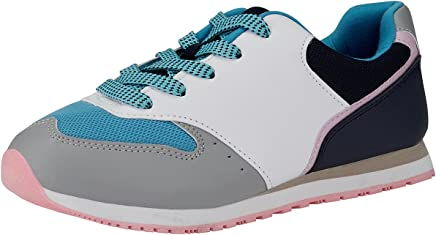 oodji Ultra Mujer Zapatillas Materiales Combinados
