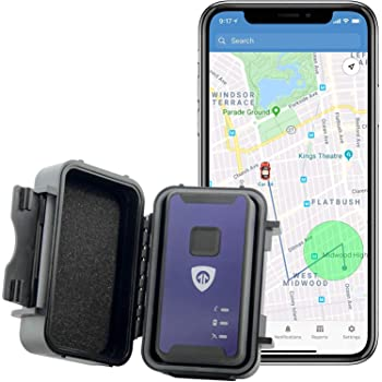 Brickhouse Security Spark Nano 7 with Magnetic Water Resistant Case for Car, Truck and Fleet Vehicle Real-Time LTE 4G GPS Tracking. Flexible Service Plans!