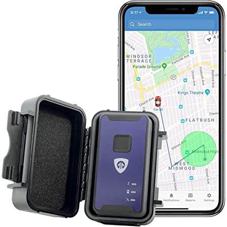 Brickhouse Security Spark Nano 7 with Magnetic Water Resistant Case for Car, Truck and Fleet Vehicle Real-Time LTE 4G GPS Tracking. Subscription Required!