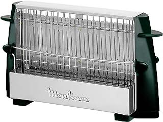 Moulinex A15453 Grille-pain Noir/Inox
