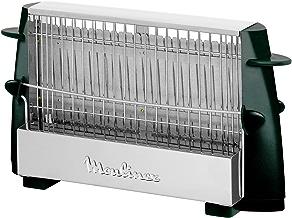 Moulinex Multipan A15453 - Tostador clásico de 760 W para todo tipo de pan, hasta 4 rebanadas, empuñadoras laterales frías, pequeño, fácil de transportar y de usar, limpieza fácil