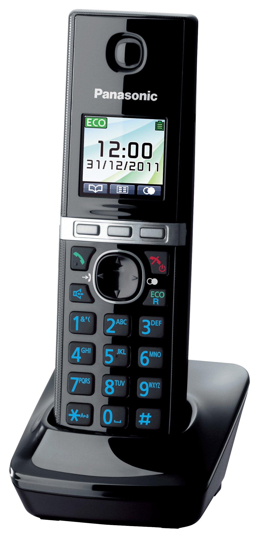 Panasonic KX-TGA806EXB - Terminal adicional para KX-TG805x/806x (inalámbrico, pantalla LCD, manos libres), negro [versión importada]: Amazon.es: Electrónica